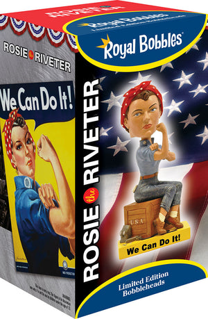Rosie The Riveter Bobble Head bobble head