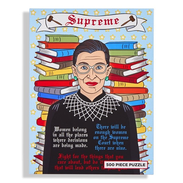 Load image into Gallery viewer, Jigsaw Puzzle: Supreme RBG Puzzle
