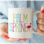 Flamingo Palm Springs Mug mug