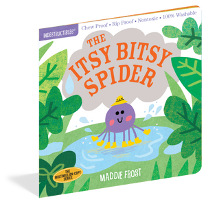 Indestructibles: Itsy Bitsy Spider book