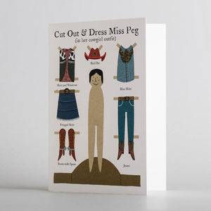 Cut Out & Dress Cowgirl Peg by Alice Melvin