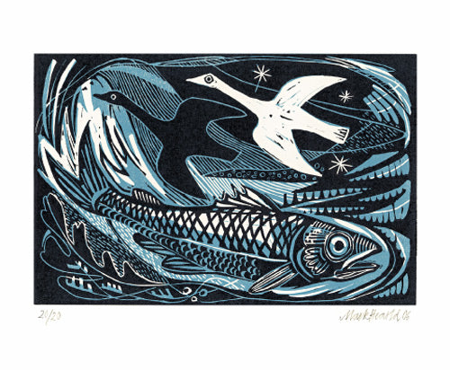 Geese & Fish  by Mark Hearld