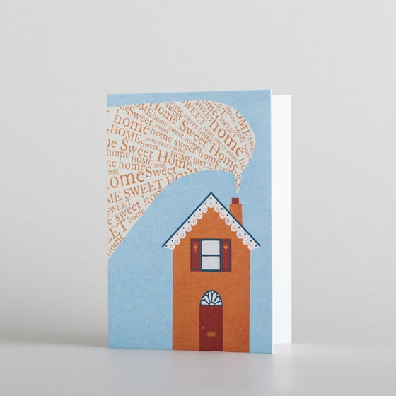 Home Sweet Home (mini card) by Alice Melvin