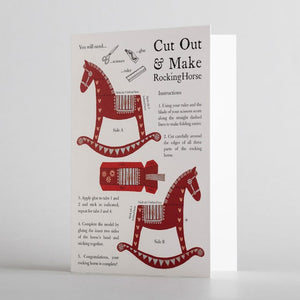 Cut Out & Make Rocking Horse by Alice Melvin