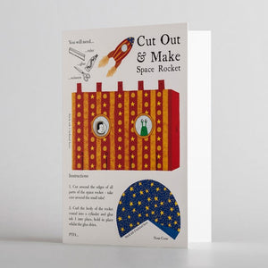 Cut Out & Make Space Rocket by Alice Melvin