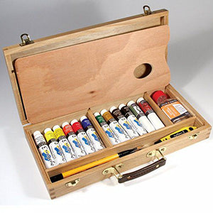 System 3 Acrylic Artists' Wooden Box