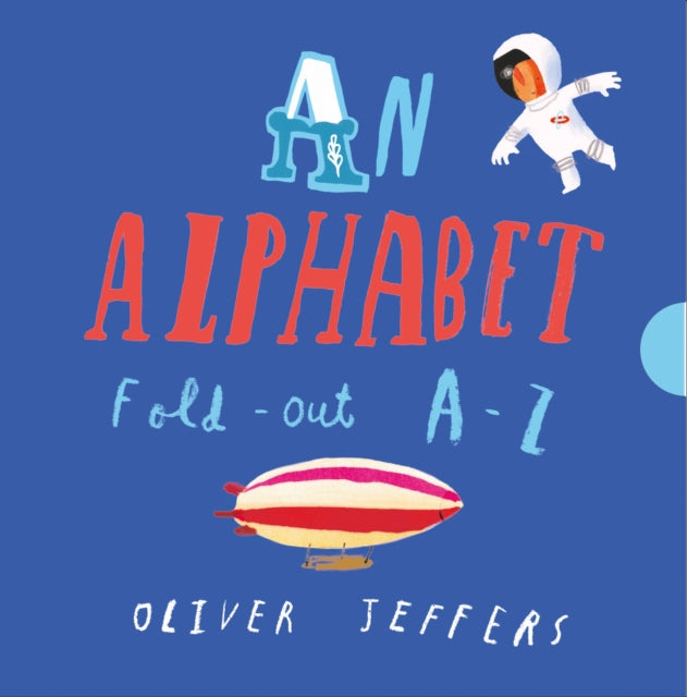 An Alphabet (Hardback, Concertina) by Oliver Jeffers