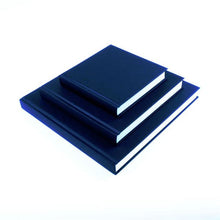"Load image into Gallery viewer, ""Craigard Gallery"" Embossed Seawhite Jumbo Square & Chunky Cloth Bound Hardback Sketchbook"