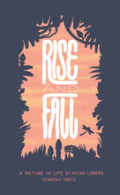 Load image into Gallery viewer, Rise & Fall (Paperback, Concertina) by Micah Lidberg