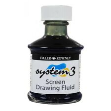 Daler Rowney System 3 Screenprinting Screen Drawing Fluid 75ml