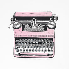 Load image into Gallery viewer, Typewriter Greetings Cards (Gift Box Set)
