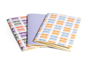 Set of 3 A5 Notebooks