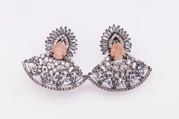 Afra Earrings www.JustNaadiyas.com