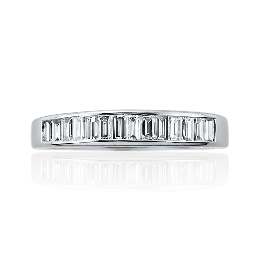 Baguette Cut Channel Set Full Eternity Ring