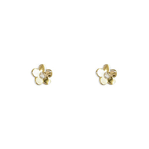 9ct Gold Daisy Stud Earrings