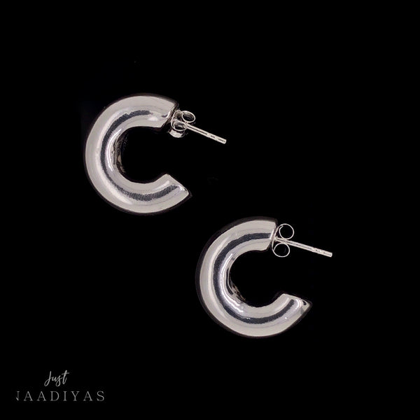 DAHAB EARRINGS STERLING SILVER JUSTNAADIYAS.COM