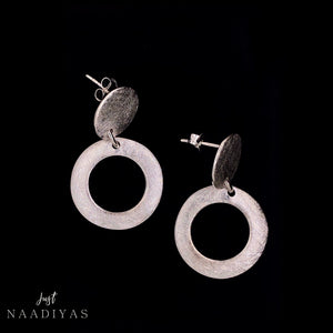 ILLHAM EARRINGS TERLING SILVER JUSTNAADIYAS.COM