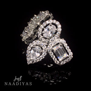 HADIYA SWAROVSKI EARRINGS WWW.JUSTNAADIYAS.COM