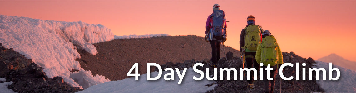 4 Day Muir Summit Climb Meal Package