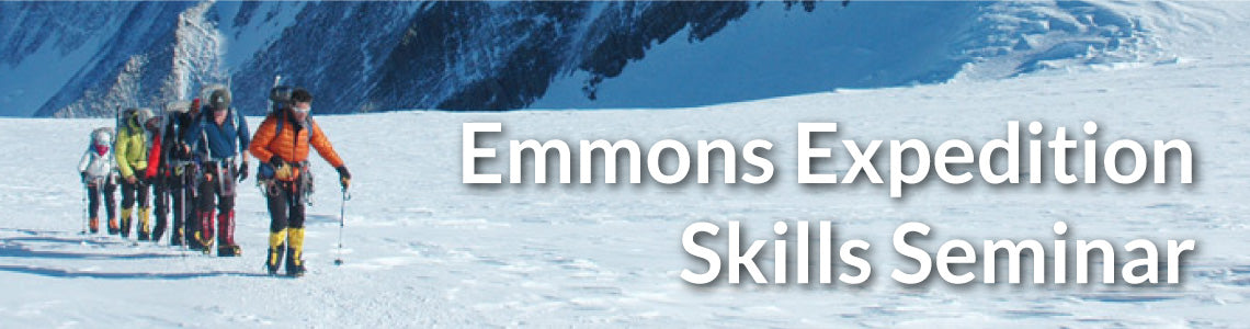 6 Day Emmons Expedition Skills Seminar Meal Package