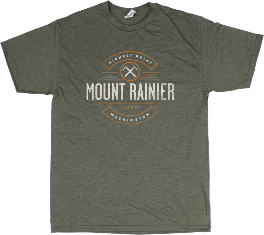 Mount Rainier Stray T-Shirt