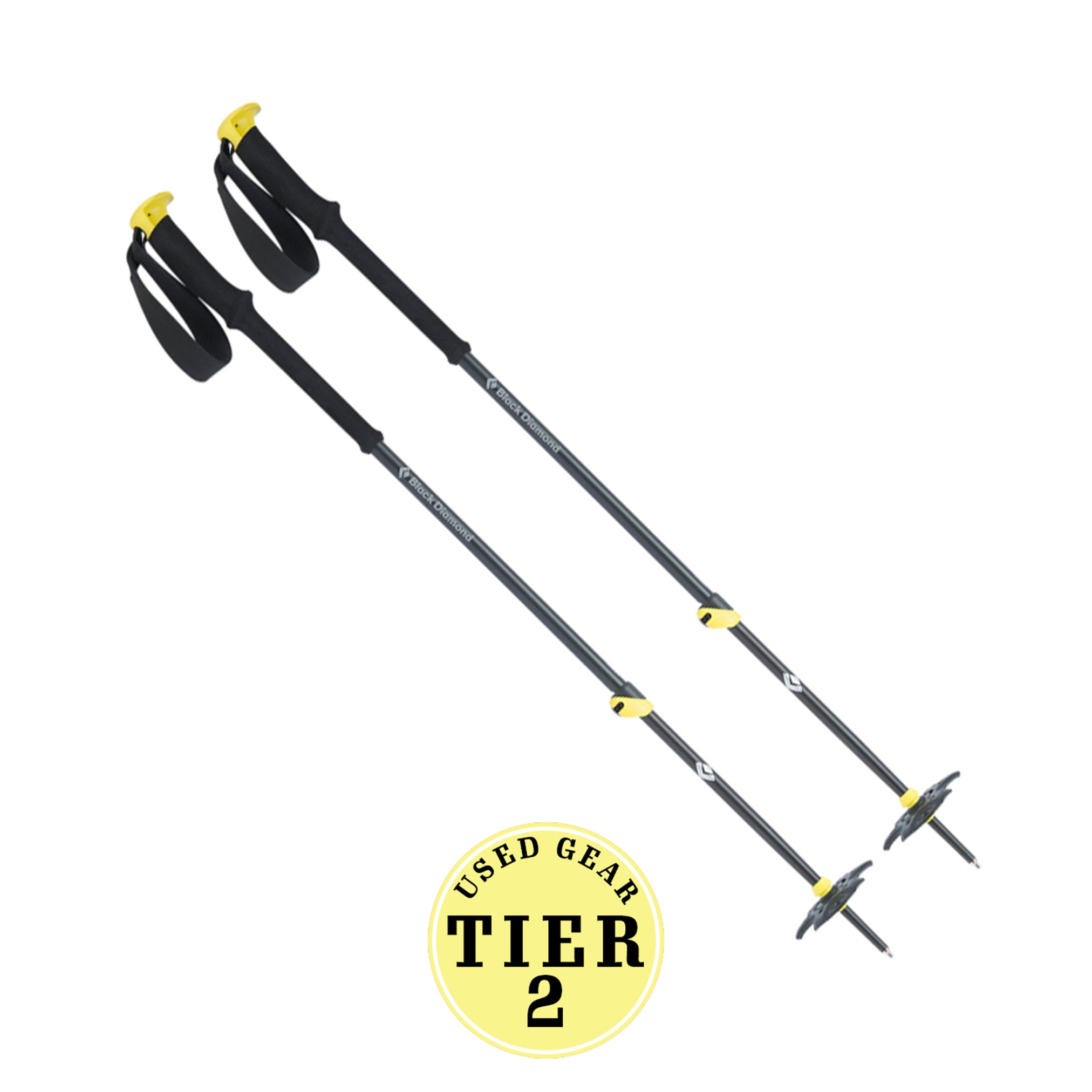 Expedition 2 Ski Poles USED Tier 2