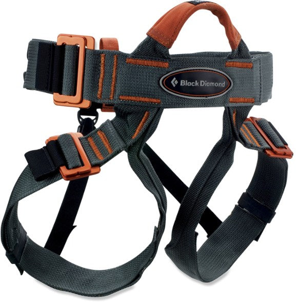 Harness w/ Triple-action Locking Carabiner