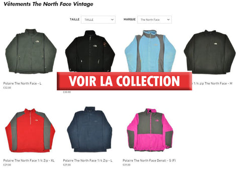 Collection The North Face Vintage