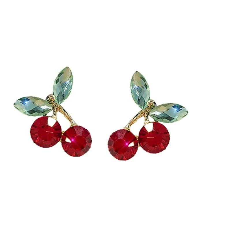 Cherry Earrings-Specialty Gifts