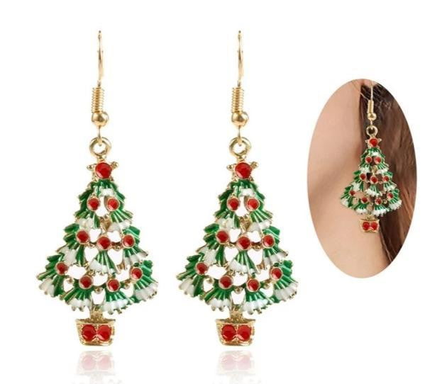 Christmas Tree Earring-Specialty Gifts