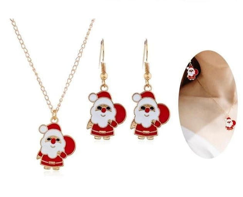 Christmas Pendant Necklace-Specialty Gifts