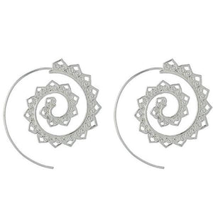 Spiral Earrings-Specialty Gifts