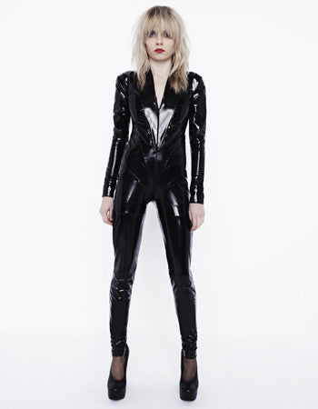 Flash PVC Catsuit