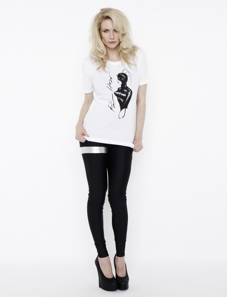 Gimp T-Shirt with Pam Hogg signature...***most sizes available.. plse enquire before purchase.