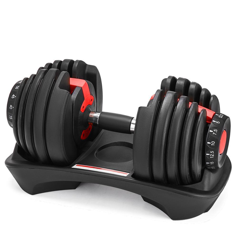 24kg / 52.5lb Adjustable Dumbbell Set