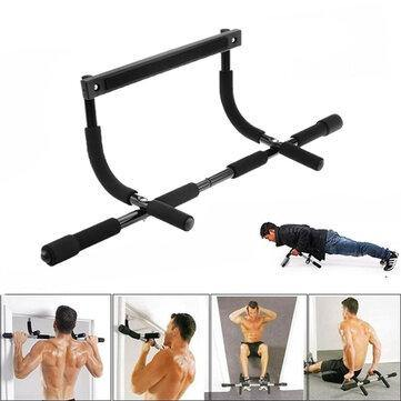 Image of Multifunction Pull Up Bar Home Gym Strength Training Upper Body Workout Bar Fiteness Exercise Tools