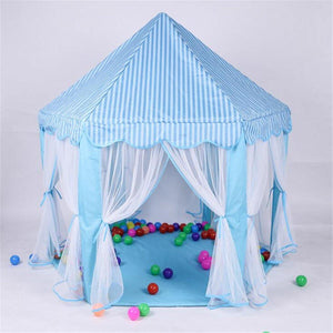 140x135cm Kids Play Tent Playhouse Princess Castle Baby Children House Outdoor Toys For Girl