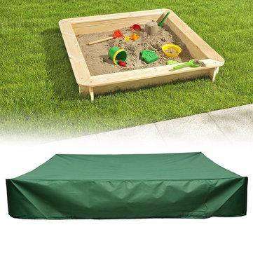 Image of Outdoor Plane Sandbox Sandpit Waterproof Cover Furniture UV Rain Dust Protector