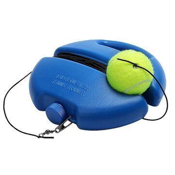 Image of Tennis Ball Singles Training Kit Set Practice Retractable Convenient Sport Tennis Training Tools