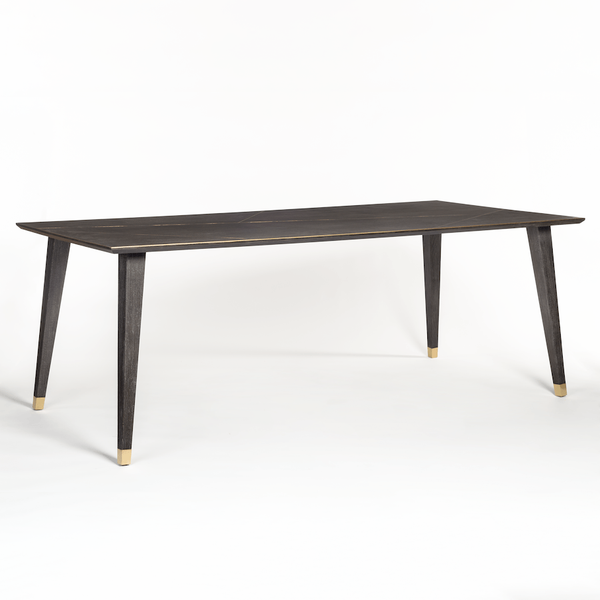 Brighton 84″ Dining Table - Monroe & Kent Home