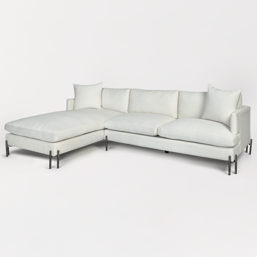 Britton Sectional – Left Facing Chaise - Monroe & Kent Home