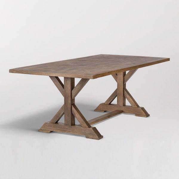 Bryant 84″ Dining Table - Monroe & Kent Home