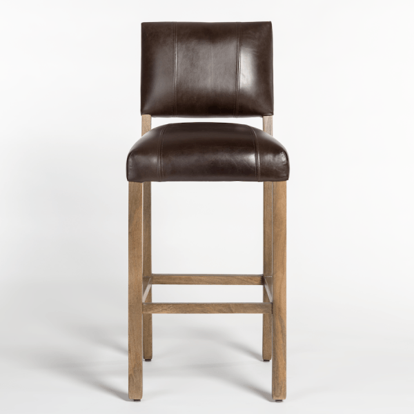 Bryant Bar Stool in Refined Slate - Monroe & Kent Home