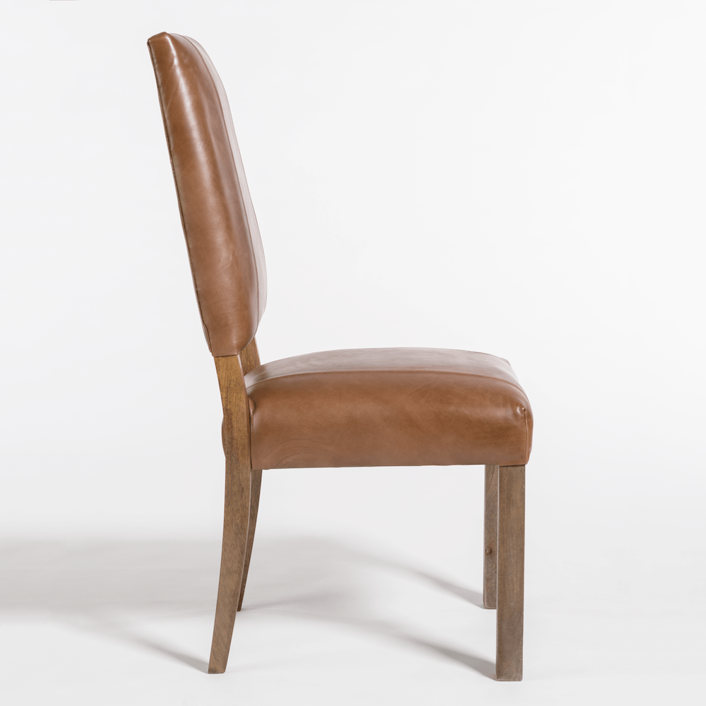 Bryant Dining Chair in Refined Tobacco - Monroe & Kent Home