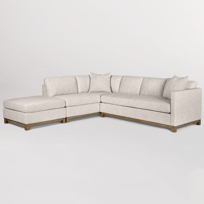 Clayton Sectional – Left Facing Chaise - Monroe & Kent Home