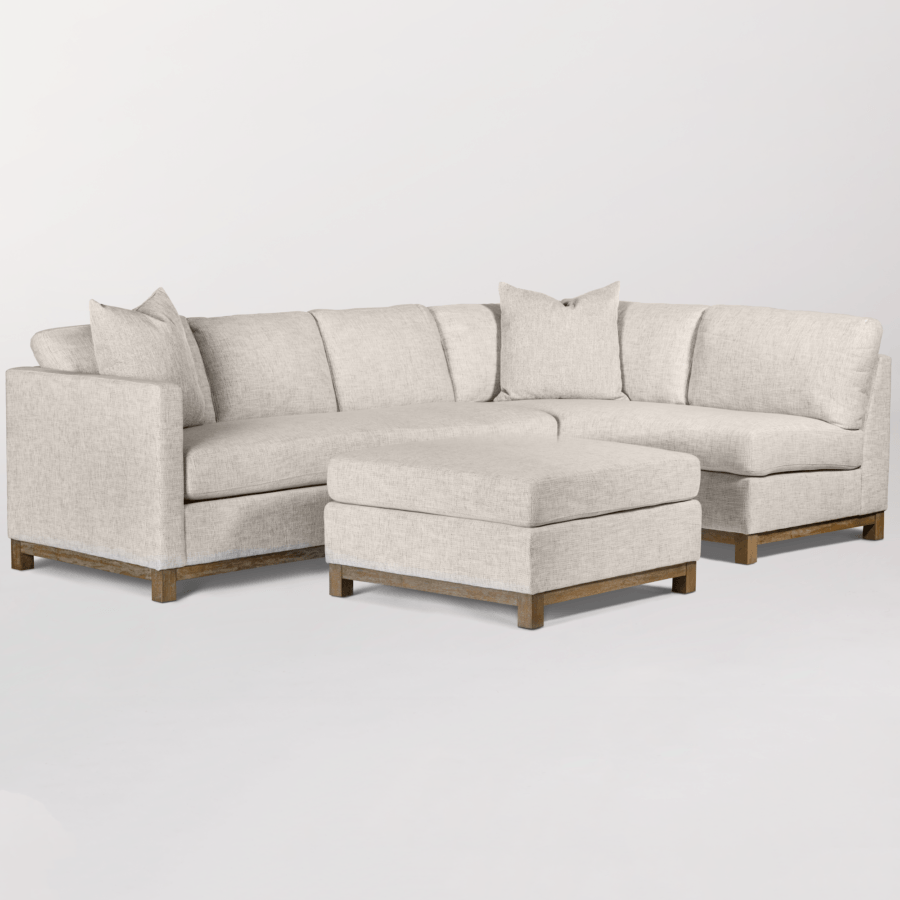 Clayton Sectional – Right Facing Chaise - Monroe & Kent Home