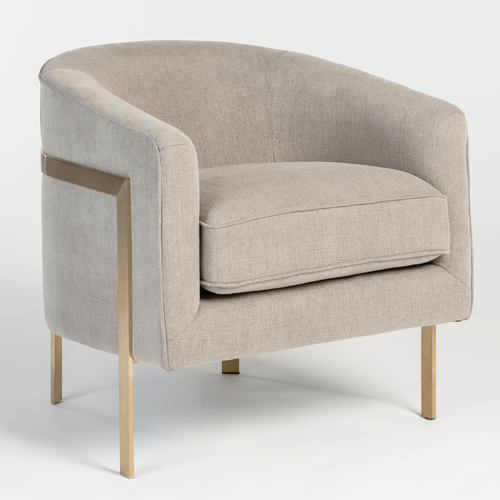 Collins Occasional Chair - Monroe & Kent Home