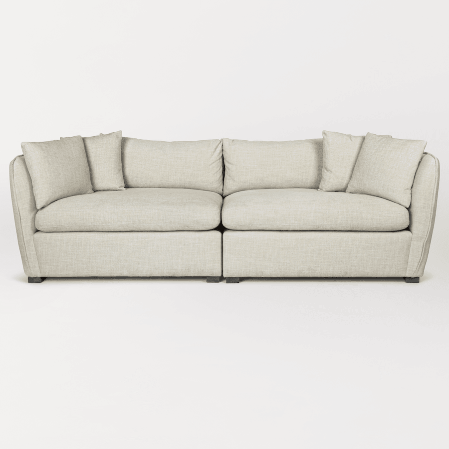 Declan Modular Sectional – Armless Left as Facing Wedge - Monroe & Kent Home