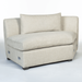 Declan Modular Sectional – Armless Right as Facing Wedge - Monroe & Kent Home (4731548074067)