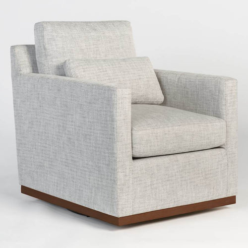 Denton Occasional Swivel Chair - Monroe & Kent Home